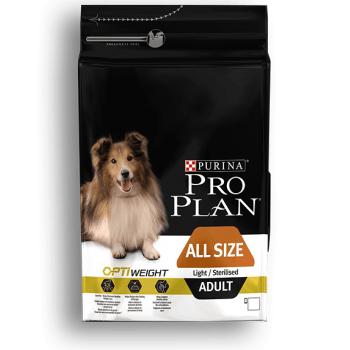 Pro Plan Adult Light / Sterilised cu Pui, 3 kg