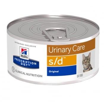 Hill's PD Feline s/d - Dizolvarea Struvitilor, 156 g