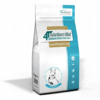4T Veterinary Diet Dog Hipoalergenic Insect, 14 Kg imagine