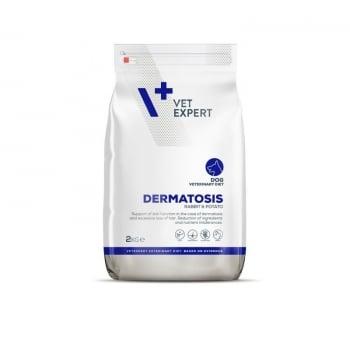 4T Veterinary Diet Dermatosis Dog Iepure si Cartofi, 2 Kg