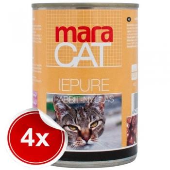 Pachet 4 Conserve Maracat cu Iepure, 410 g