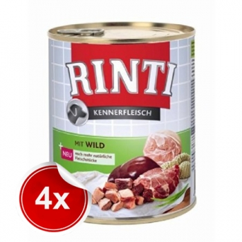 Pachet 4 Conserve Rinti cu Vanat 800 g