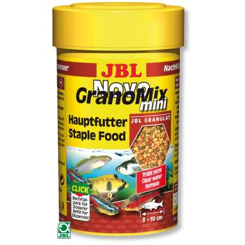 Hrana pentru pesti JBL NovoGranoMix mini Click, 100 ml