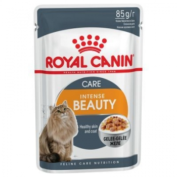Royal Canin Intense Beauty in Jelly, 85 g imagine