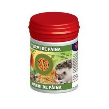 Viermi de Faina Uscati, 30 ml