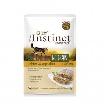 True Instinct Cat No Grain Pui si Legume, 70 g imagine