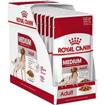 Pachet Royal Canin Medium Adult, 10 x 140 g imagine