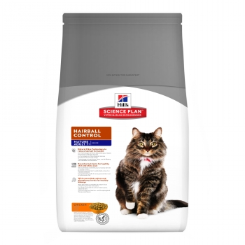 Hill's SP Feline Mature Adult 7+ Hairball Control, 1.5 kg