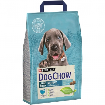 Dog Chow Puppy Large Breed Curcan, 2.5 kg