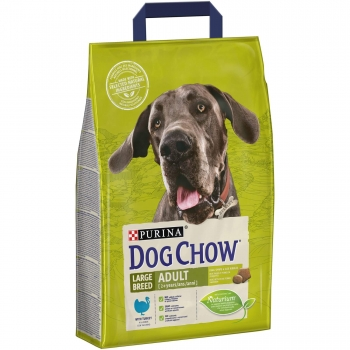 Dog Chow Adult Large Breed Curcan, 2.5 kg