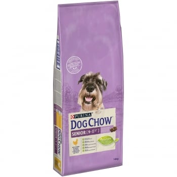 Dog Chow Senior Pui 14 kg
