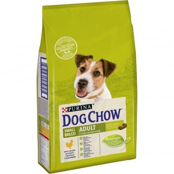 Dog Chow Adult Small Breed cu Pui 7.5 Kg