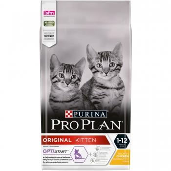 Pro Plan Junior (Kitten) Pui si Orez 10 kg