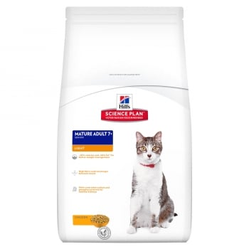 Hill's SP Feline Adult Light cu Pui, 10 kg