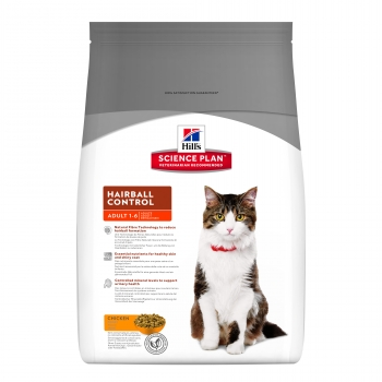 Hill's SP Feline Adult Hairball Control, 300 g