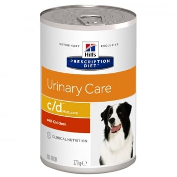 Hill's PD Canine c/d Prevenirea Recurentei Struvitilor, 370 g