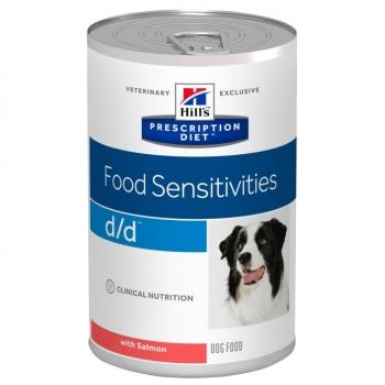 Hill's PD Canine d/d cu Somon, Alergii la Mancare, 370 g
