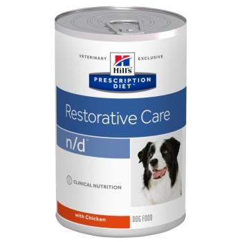 Hill's PD Canine n/d Cancer si Terapia Cancerului, 360 g
