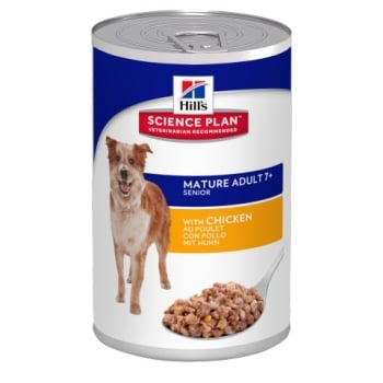 Hill's SP Canine Senior cu Pui, 370 g