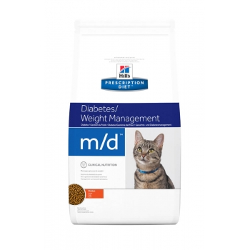 Hill's PD Feline m/d - Diabet sau Obezitate, 1.5 kg