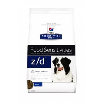 Hill's PD Canine z/d Ultra Allergen Free - Alergie la Hrana, 10 Kg