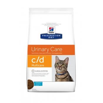 Hill's PD Feline c/d Multicare Peste Oceanic - Prevenirea Recurentei Struvitilor, 1.5 kg