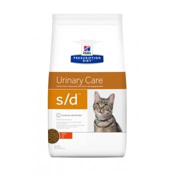Hill's PD Feline s/d - Dizolvarea Struvitilor, 1.5 kg