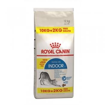 Royal Canin Indoor Cat, 10 kg + 2 kg