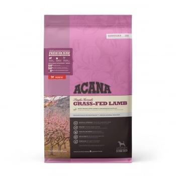 ACANA Singles Grass-Fed Lamb, Miel și Mere, hrană uscată monoproteică fără cereale câini, 11.4kg