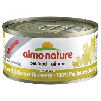 Almo Nature Cat Carne de Pui si Branza 70 g