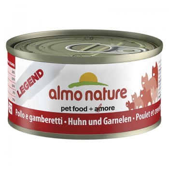 Almo Nature Cat Carne de Pui si Creveti 70 g