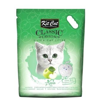Asternut Igienic Pentru Pisici Kit Cat Crystal Apple, 5 L imagine