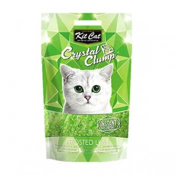 Asternut Igienic Pentru Pisici Kit Cat Crystal Clump Frosted Lyme, 4 L imagine