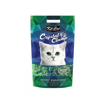 Asternut Igienic Pentru Pisici Kit Cat Crystal Clump Mistic Rainforest, 4 L imagine