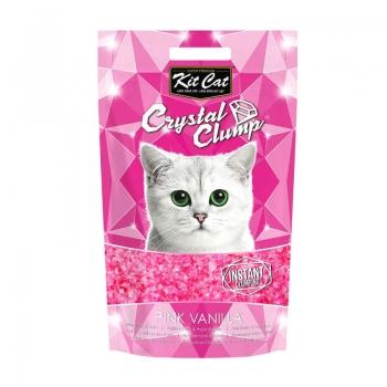 Asternut Igienic Pentru Pisici Kit Cat Crystal Clump Pink Vanilla, 4 L imagine