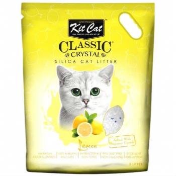 Asternut Igienic Pentru Pisici Kit Cat Crystal Lemon, 5 L imagine