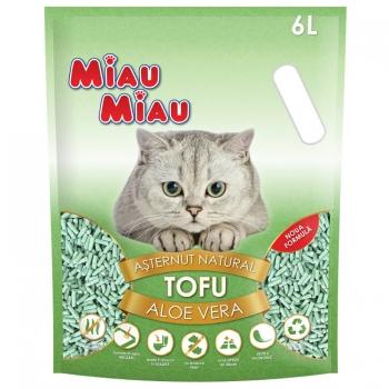 Asternut Miau Miau Tofu Aloe Vera, 6 L imagine