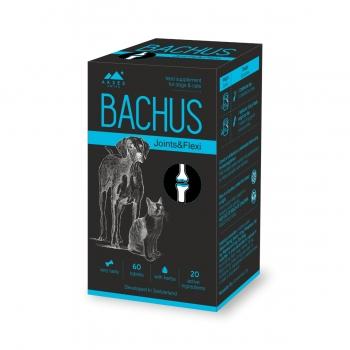 BACHUS Joints&Flexi, suplimente articulare câini și pisici, 60cpr