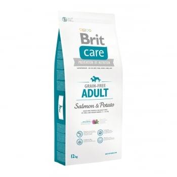 BRIT Care Adult Small and Medium Breed, XS-M, Somon cu Cartofi, pachet economic hrană uscată fără cereale câini, 12kg x 2