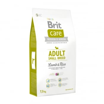 BRIT Care Adult Small Breed, XS-S, Miel cu Orez, hrană uscată câini, 7.5kg