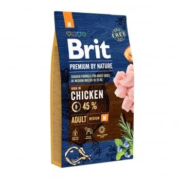 BRIT Premium By Nature Adult Medium Breed, M, Pui, hrană uscată câini, 8kg