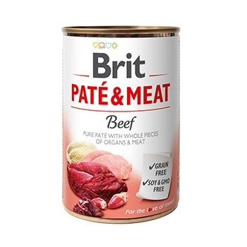 Brit Pate & Meat Cu Vita, 400 g imagine