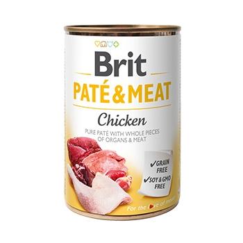 Brit Pate & Meat Cu Pui, 400 g imagine