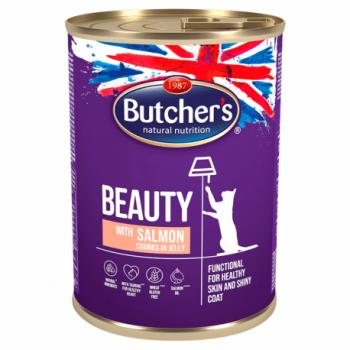 Butcher's Pisica Functional Beauty Somon in Aspic, 400 g