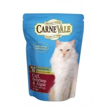 Carnevale Pisica Vitel Creveti si Alge 85 g imagine