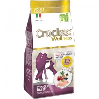Crockex Wellness Dog Adult Mini, Iepure Si Orez, 7.5 kg