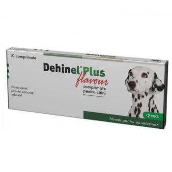 Deparazitare Dehinel Plus Flavour, 10 comprimate imagine