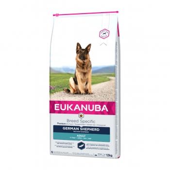 EUKANUBA Breed Specific Adult Ciobănesc German, Pui, pachet economic hrană uscată câini, 12kg x 2