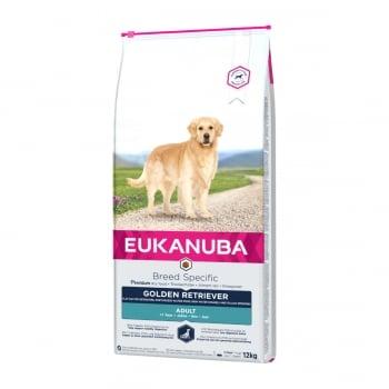 EUKANUBA Breed Specific Adult Golden Retriever, Pui, hrană uscată câini, 12kg