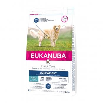 EUKANUBA Daily Care Câini Supraponderali Adult S-XL, Pui, hrană uscată câini, 2.3kg